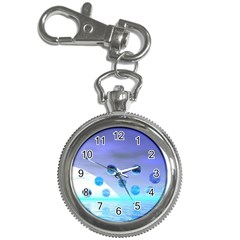 Moonlight Wonder, Abstract Journey To The Unknown Key Chain Watch by DianeClancy