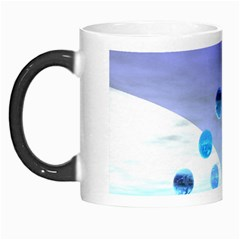 Moonlight Wonder, Abstract Journey To The Unknown Morph Mug by DianeClancy