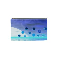 Moonlight Wonder, Abstract Journey To The Unknown Cosmetic Bag (small) by DianeClancy