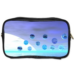Moonlight Wonder, Abstract Journey To The Unknown Travel Toiletry Bag (one Side) by DianeClancy
