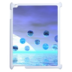 Moonlight Wonder, Abstract Journey To The Unknown Apple Ipad 2 Case (white) by DianeClancy