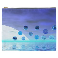 Moonlight Wonder, Abstract Journey To The Unknown Cosmetic Bag (xxxl) by DianeClancy