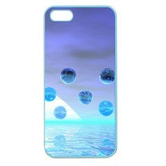 Moonlight Wonder, Abstract Journey To The Unknown Apple Seamless Iphone 5 Case (color) by DianeClancy