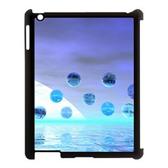 Moonlight Wonder, Abstract Journey To The Unknown Apple Ipad 3/4 Case (black) by DianeClancy