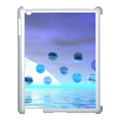 Moonlight Wonder, Abstract Journey To The Unknown Apple Ipad 3/4 Case (white) by DianeClancy