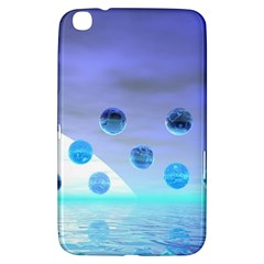Moonlight Wonder, Abstract Journey To The Unknown Samsung Galaxy Tab 3 (8 ) T3100 Hardshell Case  by DianeClancy