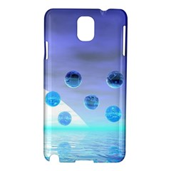 Moonlight Wonder, Abstract Journey To The Unknown Samsung Galaxy Note 3 N9005 Hardshell Case by DianeClancy