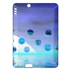 Moonlight Wonder, Abstract Journey To The Unknown Kindle Fire Hdx 7  Hardshell Case by DianeClancy