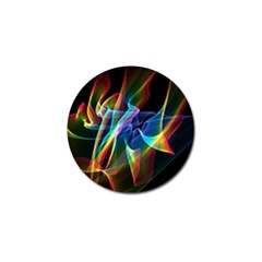 Aurora Ribbons, Abstract Rainbow Veils  Golf Ball Marker 4 Pack by DianeClancy