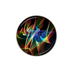Aurora Ribbons, Abstract Rainbow Veils  Golf Ball Marker 10 Pack (for Hat Clip) by DianeClancy