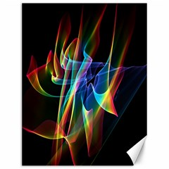 Aurora Ribbons, Abstract Rainbow Veils  Canvas 12  X 16  (unframed) by DianeClancy
