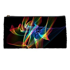 Aurora Ribbons, Abstract Rainbow Veils  Pencil Case by DianeClancy