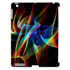 Aurora Ribbons, Abstract Rainbow Veils  Apple Ipad 3/4 Hardshell Case (compatible With Smart Cover) by DianeClancy