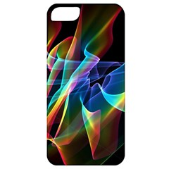 Aurora Ribbons, Abstract Rainbow Veils  Apple Iphone 5 Classic Hardshell Case by DianeClancy