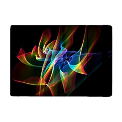 Aurora Ribbons, Abstract Rainbow Veils  Apple Ipad Mini Flip Case by DianeClancy