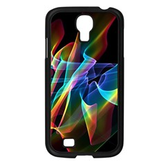 Aurora Ribbons, Abstract Rainbow Veils  Samsung Galaxy S4 I9500/ I9505 Case (black) by DianeClancy