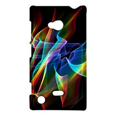 Aurora Ribbons, Abstract Rainbow Veils  Nokia Lumia 720 Hardshell Case by DianeClancy