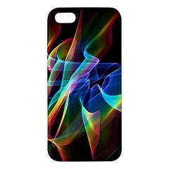 Aurora Ribbons, Abstract Rainbow Veils  Iphone 5s Premium Hardshell Case by DianeClancy