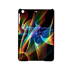 Aurora Ribbons, Abstract Rainbow Veils  Apple Ipad Mini 2 Hardshell Case by DianeClancy