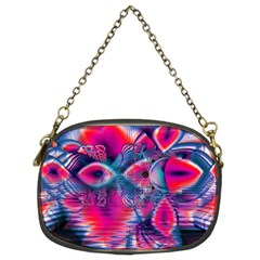 Cosmic Heart Of Fire, Abstract Crystal Palace Chain Purse (two Sided)  by DianeClancy