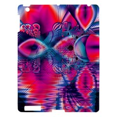 Cosmic Heart Of Fire, Abstract Crystal Palace Apple Ipad 3/4 Hardshell Case by DianeClancy