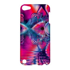 Cosmic Heart Of Fire, Abstract Crystal Palace Apple Ipod Touch 5 Hardshell Case by DianeClancy