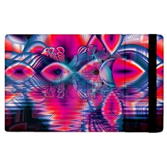 Cosmic Heart Of Fire, Abstract Crystal Palace Apple Ipad 3/4 Flip Case by DianeClancy