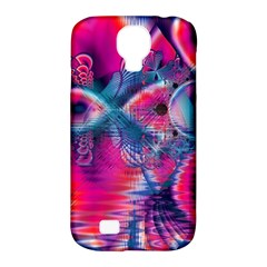 Cosmic Heart Of Fire, Abstract Crystal Palace Samsung Galaxy S4 Classic Hardshell Case (pc+silicone) by DianeClancy