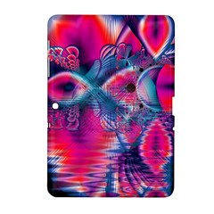 Cosmic Heart Of Fire, Abstract Crystal Palace Samsung Galaxy Tab 2 (10 1 ) P5100 Hardshell Case  by DianeClancy