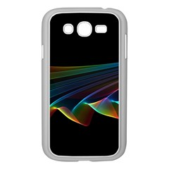 Flowing Fabric Of Rainbow Light, Abstract  Samsung Galaxy Grand Duos I9082 Case (white) by DianeClancy