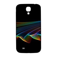 Flowing Fabric Of Rainbow Light, Abstract  Samsung Galaxy S4 I9500/i9505  Hardshell Back Case by DianeClancy