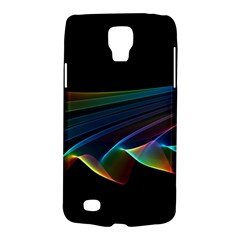 Flowing Fabric Of Rainbow Light, Abstract  Samsung Galaxy S4 Active (i9295) Hardshell Case by DianeClancy
