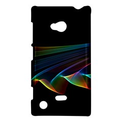 Flowing Fabric Of Rainbow Light, Abstract  Nokia Lumia 720 Hardshell Case by DianeClancy