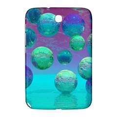 Ocean Dreams, Abstract Aqua Violet Ocean Fantasy Samsung Galaxy Note 8 0 N5100 Hardshell Case  by DianeClancy