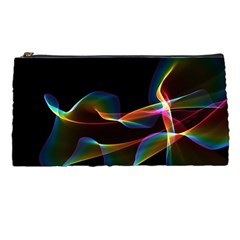 Fluted Cosmic Rafluted Cosmic Rainbow, Abstract Winds Pencil Case by DianeClancy