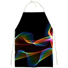 Fluted Cosmic Rafluted Cosmic Rainbow, Abstract Winds Apron by DianeClancy