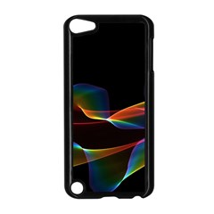 Fluted Cosmic Rafluted Cosmic Rainbow, Abstract Winds Apple Ipod Touch 5 Case (black) by DianeClancy