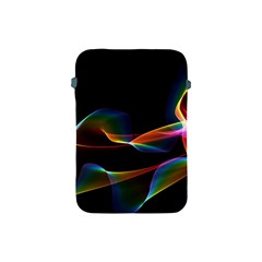 Fluted Cosmic Rafluted Cosmic Rainbow, Abstract Winds Apple Ipad Mini Protective Sleeve by DianeClancy