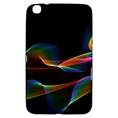 Fluted Cosmic Rafluted Cosmic Rainbow, Abstract Winds Samsung Galaxy Tab 3 (8 ) T3100 Hardshell Case  by DianeClancy