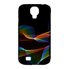 Fluted Cosmic Rafluted Cosmic Rainbow, Abstract Winds Samsung Galaxy S4 Classic Hardshell Case (pc+silicone) by DianeClancy