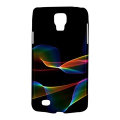 Fluted Cosmic Rafluted Cosmic Rainbow, Abstract Winds Samsung Galaxy S4 Active (i9295) Hardshell Case by DianeClancy