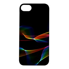 Fluted Cosmic Rafluted Cosmic Rainbow, Abstract Winds Apple Iphone 5s Hardshell Case by DianeClancy