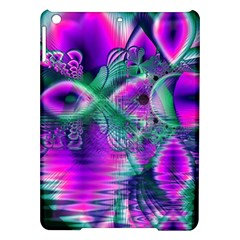 Teal Violet Crystal Palace, Abstract Cosmic Heart Apple Ipad Air Hardshell Case by DianeClancy