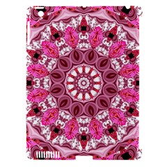 Twirling Pink, Abstract Candy Lace Jewels Mandala  Apple Ipad 3/4 Hardshell Case (compatible With Smart Cover) by DianeClancy