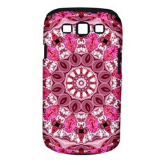 Twirling Pink, Abstract Candy Lace Jewels Mandala  Samsung Galaxy S Iii Classic Hardshell Case (pc+silicone) by DianeClancy