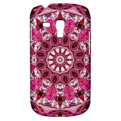 Twirling Pink, Abstract Candy Lace Jewels Mandala  Samsung Galaxy S3 Mini I8190 Hardshell Case by DianeClancy