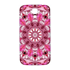 Twirling Pink, Abstract Candy Lace Jewels Mandala  Samsung Galaxy S4 I9500/i9505  Hardshell Back Case by DianeClancy