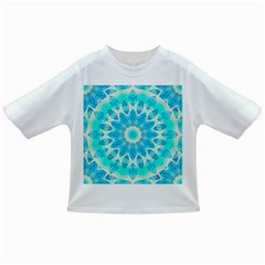 Blue Ice Goddess, Abstract Crystals Of Love Baby T Shirt