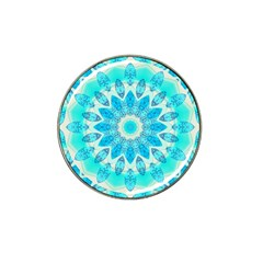 Blue Ice Goddess, Abstract Crystals Of Love Golf Ball Marker 10 Pack (for Hat Clip)