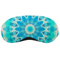 Blue Ice Goddess, Abstract Crystals Of Love Sleeping Mask
